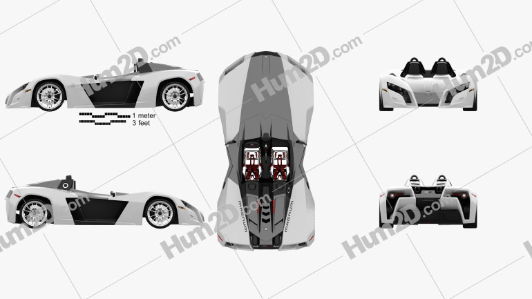 Magnum MK5 2014 car clipart