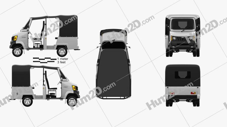 Mahindra Gio Compact Cab 2011