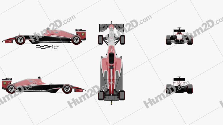 Marussia MR03 2014