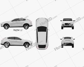 Maserati Kubang 2013 car clipart