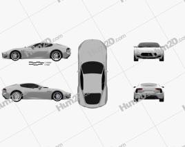 Maserati Alfieri 2014 car clipart