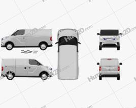 Maxus EV30 2020 clipart
