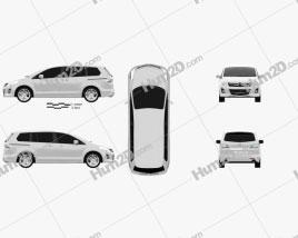Mazda 8 MPV 2010