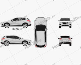 Mazda CX-5 2012 car clipart