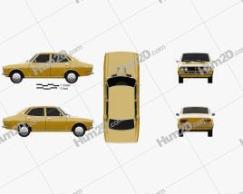 Mazda Capella (616) sedan 1974