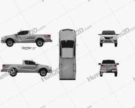 Mazda BT-50 Freestyle Cab 2016