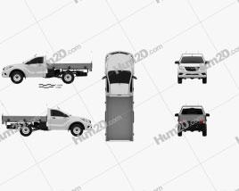 Mazda BT-50 Single Cab Alloy Tray 2016