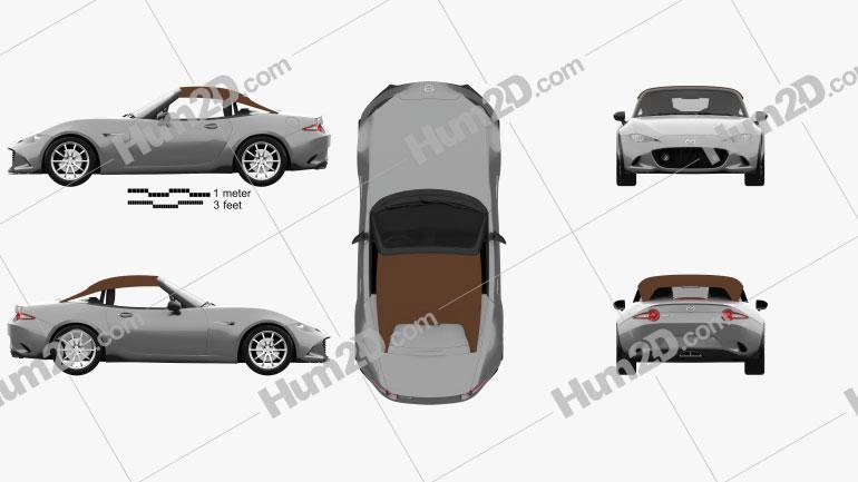 Mazda MX-5 Speedster 2015 car clipart