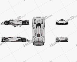 Mazda LM55 Vision Gran Turismo 2014 Clipart