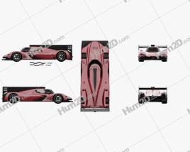 Mazda RT24-P Racecar 2017