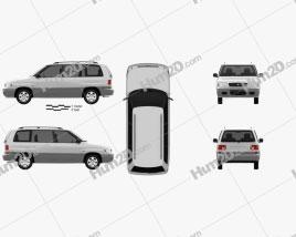 Mazda MPV (LV) 1997
