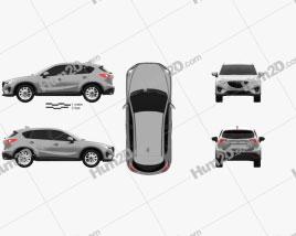 Mazda CX-5 US-spec 2012 car clipart