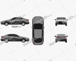 Mazda 3 BM sedan 2017