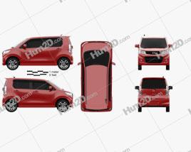 Mazda Flair Custom XT 2012
