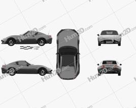 Mazda MX-5 RF 2016 Clipart
