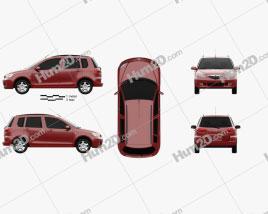 Mazda 2 2003 car clipart
