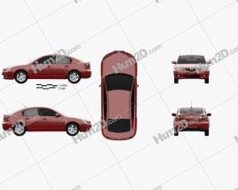 Mazda 3 sedan 2003