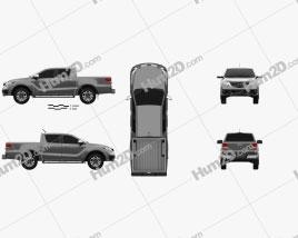 Mazda BT-50 Double Cab 2018
