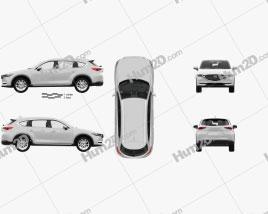 Mazda CX-8 mit HD Innenraum 2017 car clipart
