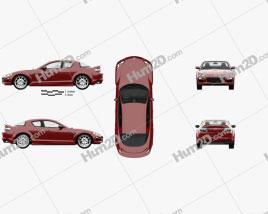 Mazda RX-8 with HQ interior 2008
