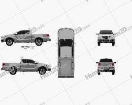 Mazda BT-50 Freestyle Cab 2018