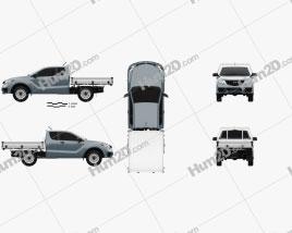 Mazda BT-50 Freestyle Cab Alloy Tray 2018