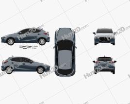 Mazda 2 hatchback 2019