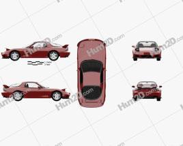Mazda RX-7 with HQ interior 1992