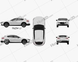 Mazda CX-4 2020 car clipart