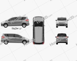Mazda VX-1 2016 clipart