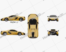 McLaren 650S Spider 2015