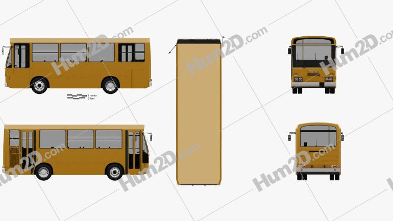 Menarini C13 Bus 1981