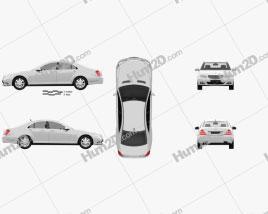 Mercedes-Benz S-Class car clipart