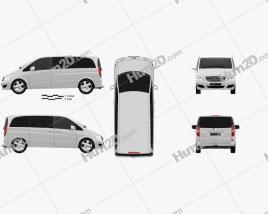 Mercedes-Benz Viano Compact clipart