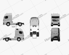 Mercedes-Benz Future Truck 2025 clipart