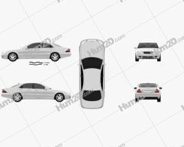 Mercedes-Benz S-class 2003 car clipart