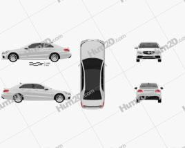Mercedes-Benz E-Class 63 AMG 2014 car clipart