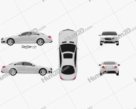 Mercedes-Benz CL-Class 65 AMG 2012 car clipart