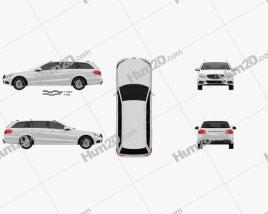 Mercedes-Benz E-Class estate (W212) 2014