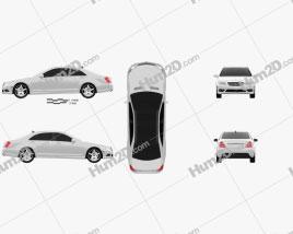Mercedes-Benz S-Class (W221) 2012 car clipart