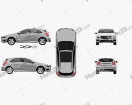 Mercedes-Benz A-class (W176) Urban Package 2013