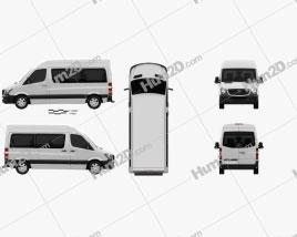 Mercedes-Benz Sprinter Passenger Van 2013