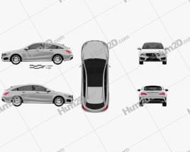 Mercedes-Benz CLA-Class (C117) Shooting Brake 2014
