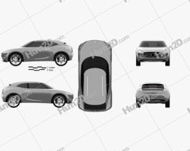 Mercedes-Benz Vision G-Code 2014 car clipart