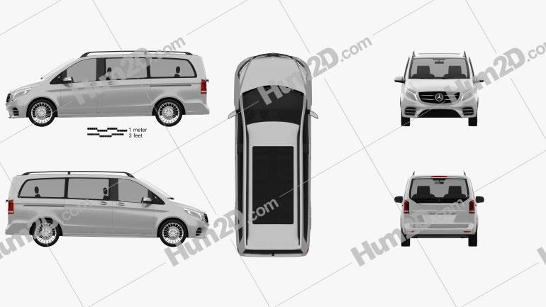 Mercedes-Benz Vision e 2015 Clipart Image
