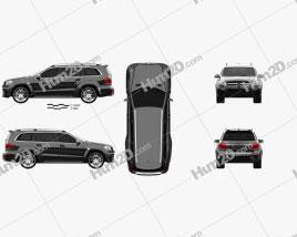 Mercedes-Benz GL-Class X166 Brabus B63 2013