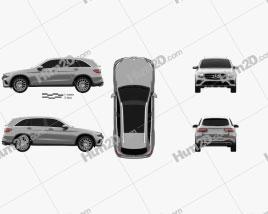 Mercedes-Benz GLC-Class (X205) AMG Line 2015