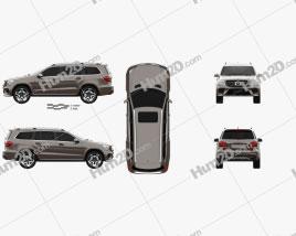 Mercedes-Benz GLS-Class AMG Line 2015