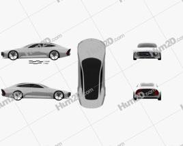 Mercedes-Benz IAA 2015 car clipart
