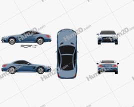 Mercedes-Benz SL-Class (R231) 2015 Clipart